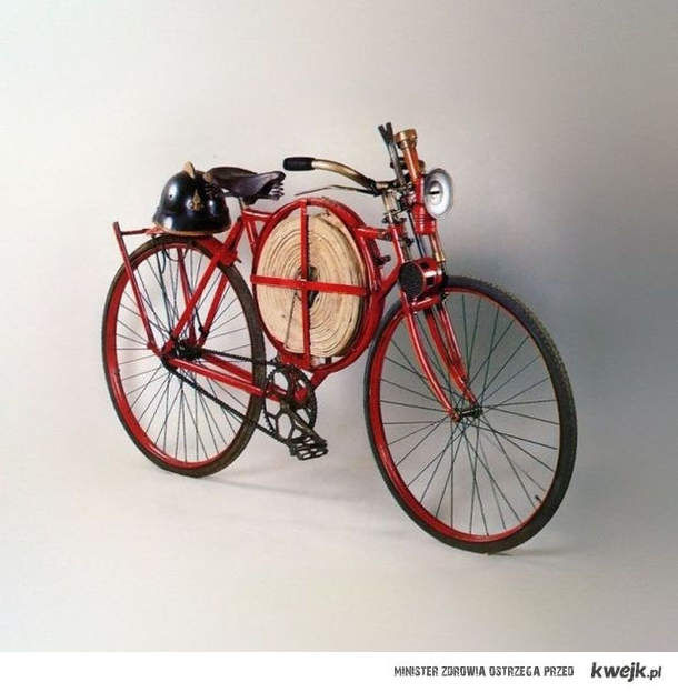 rower strazacki