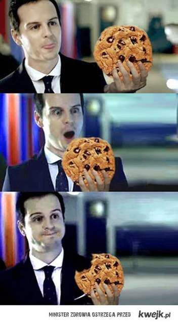 Moriarty just needed a cookie!