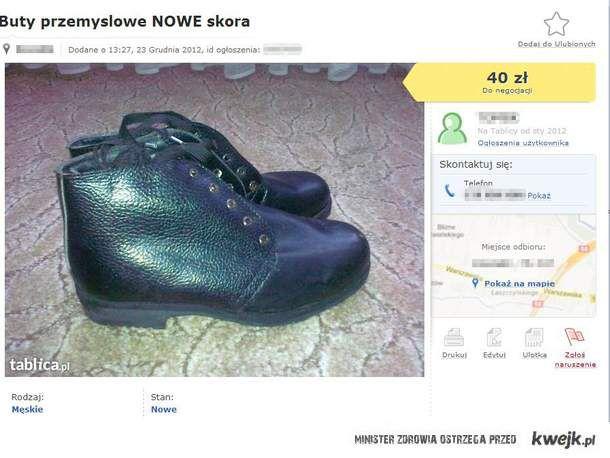 Buty Przemysłowe.