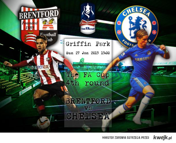Brentford v Chelsea (the FA Cup)