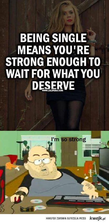 jestem taki silny