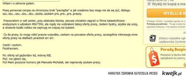 Poczcie humoru Manueli Michalak