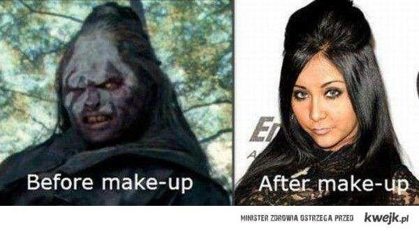 Make-up zmienia wszystko