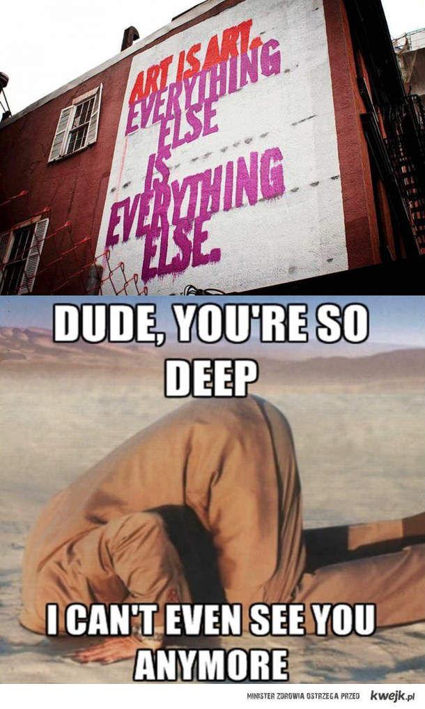 Tak bardzo głębokie