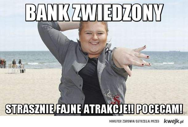 Bank zwiedzony