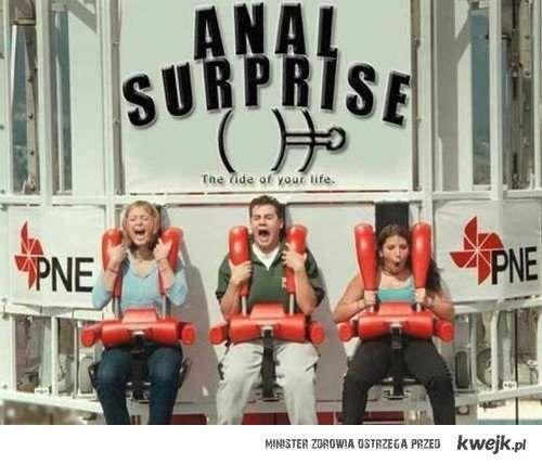anal suprise