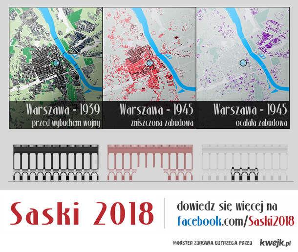 Warszawa - zniszczenia