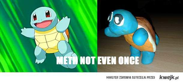 Squirtle po meth