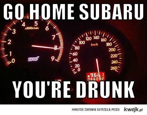 Go home subaru