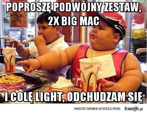 Poproszę podwójny zestaw, 2X BIG MAC