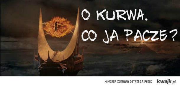 Co paczy Sauron