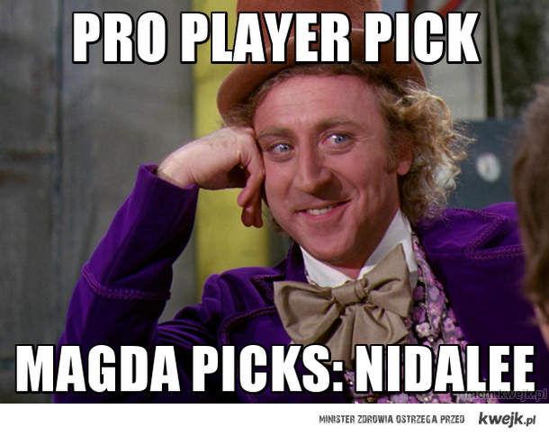 pro player pick