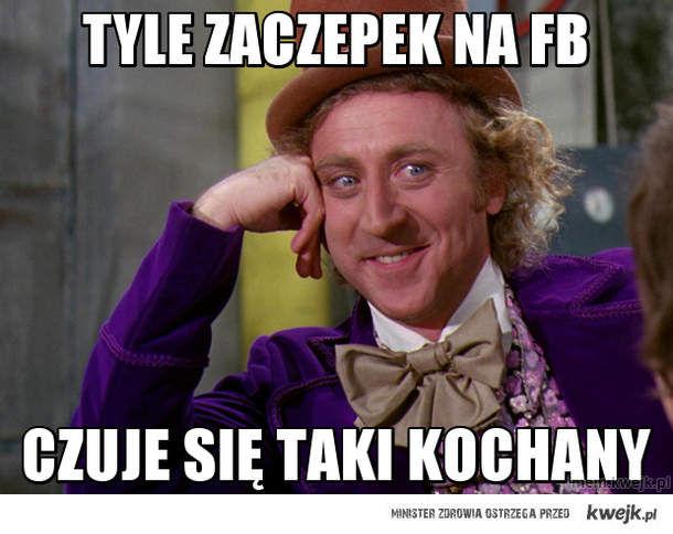 Tyle zaczepek na fb