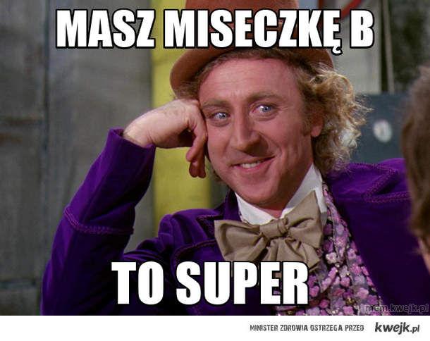 mASZ MISECZKĘ B