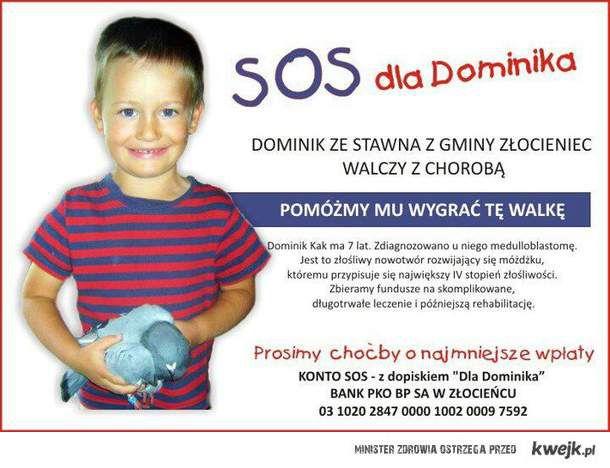 SOS dla DOMINIKA