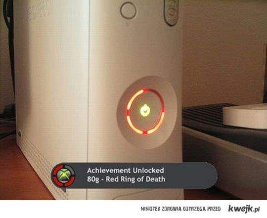 Achivment Unlocked - nie chciałem tego osiągnięcia więc nie kupiłem XboXa.