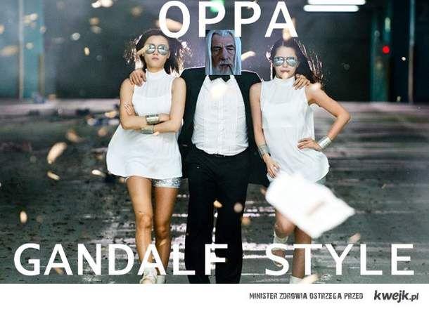 Oppa Gandalf Style!