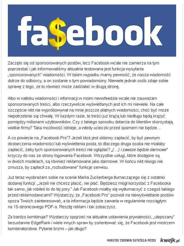 Nie facebook'owi