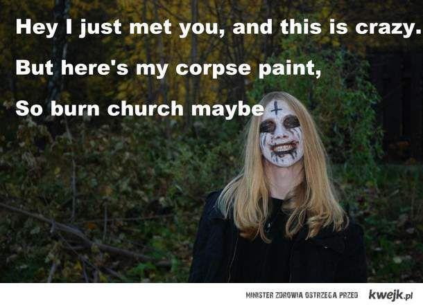 burn church