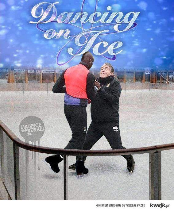 Mario tańczy na lodzie!