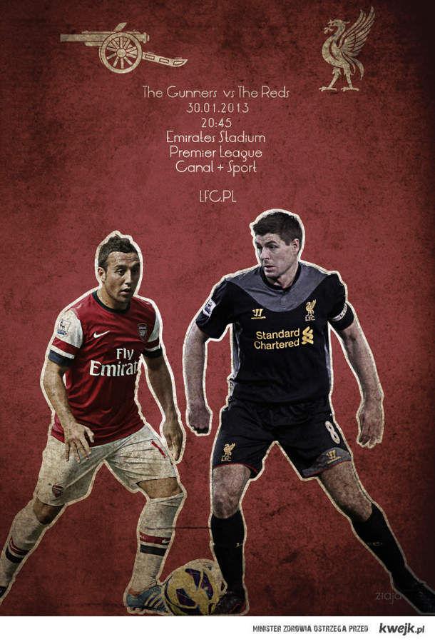 Arsenal -Liverpool. Klasyk