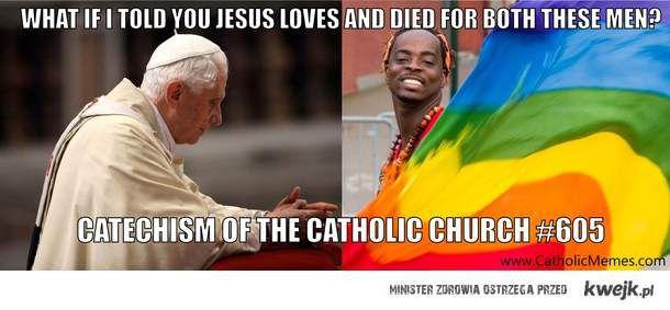 Co łączy Papieża i geja?