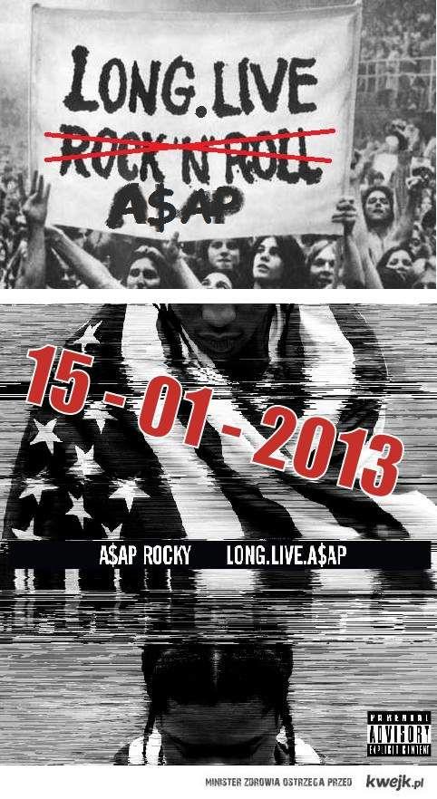 Long.Live.A$AP premiera: 15.01.2013!