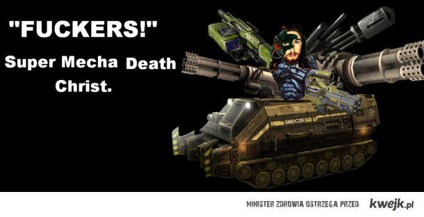 Super Mecha Death Christ!
