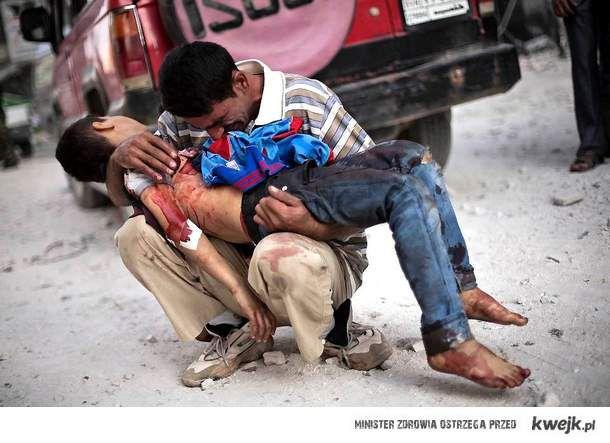 w Syrii tygodniowo ginie kilkaset osób a w TVNie dalej mówią o małej Madzii...
