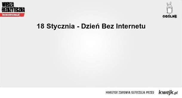 Dzień bez internetu