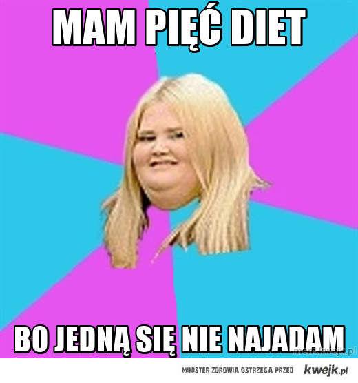 Mam pięć diet