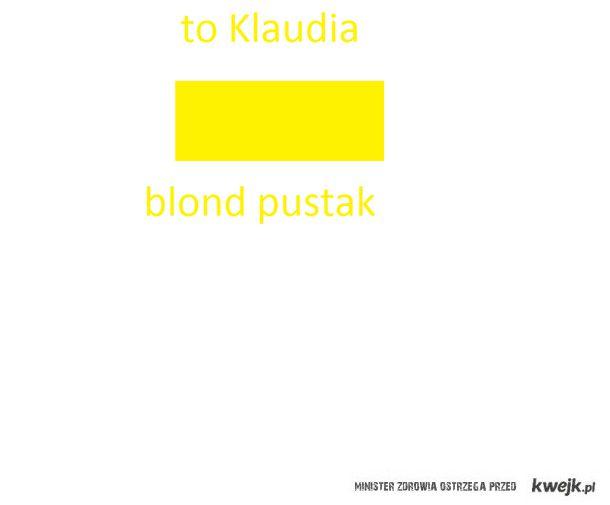 Klaudia to pustak