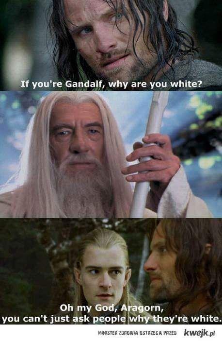 Legolas,Aragorn,Gandalf