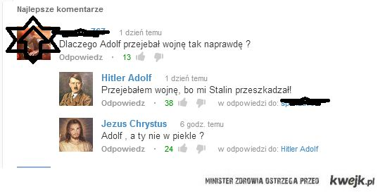 Adolf w piekle