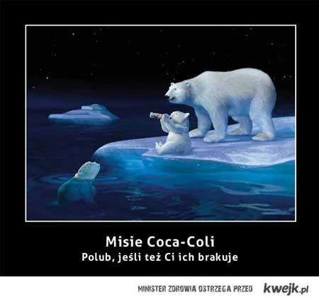 Misie Coca-Coli - Polub, jeśli też Ci ich brakuje