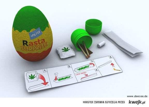rasta jajko
