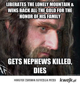 bad luck thorin