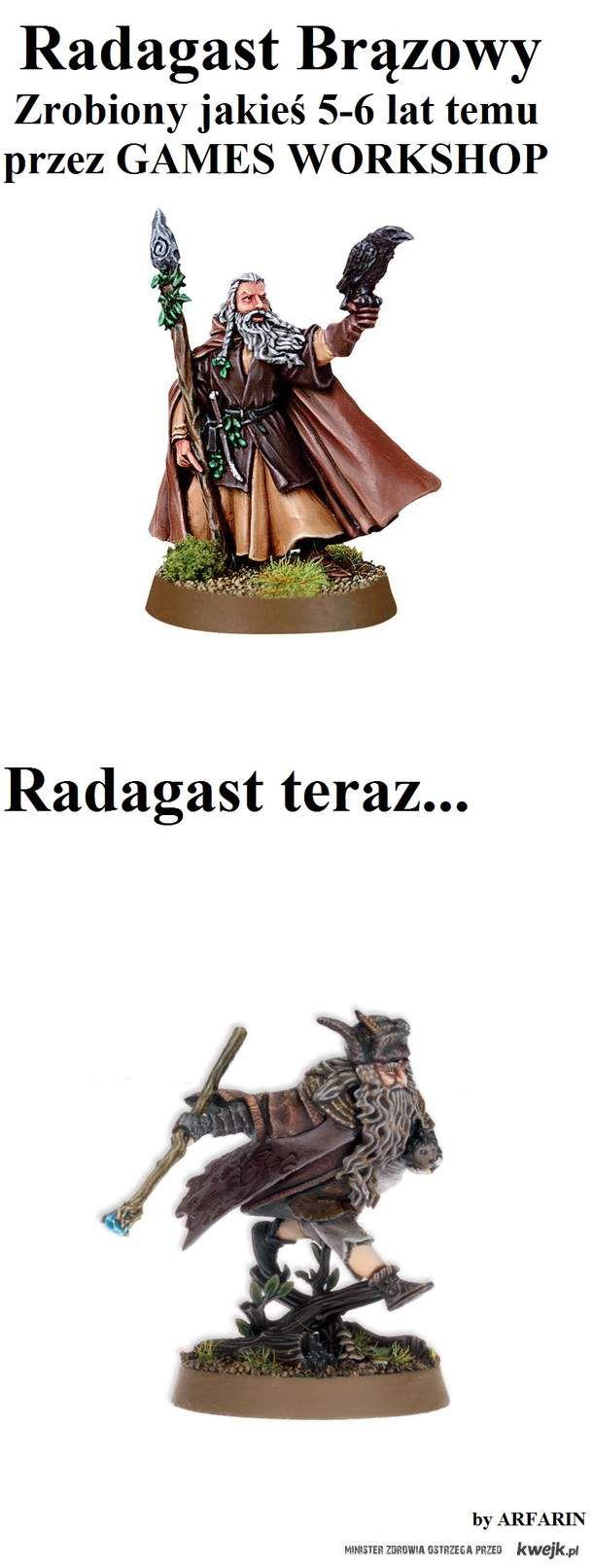 Wolę pierwszą wersję Radagasta :(
