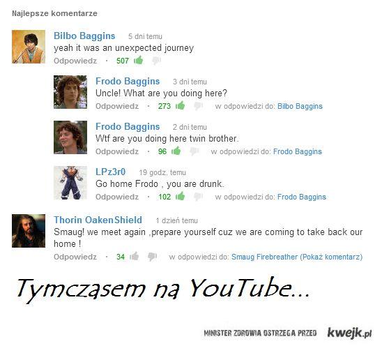 Tymczasem na YouTube...
