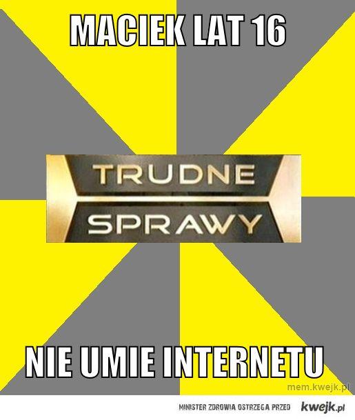 Nie umie internetu