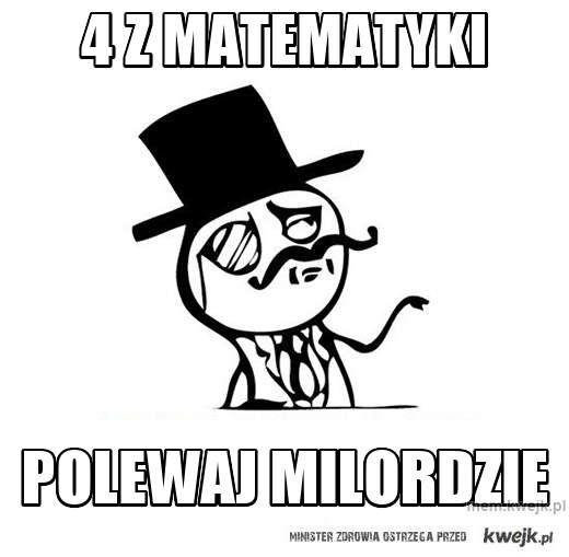 4 z matematyki
