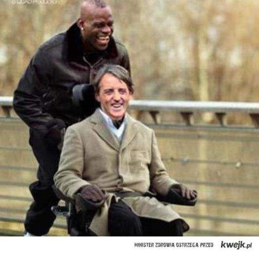 Super Mario and Roberto Mancini