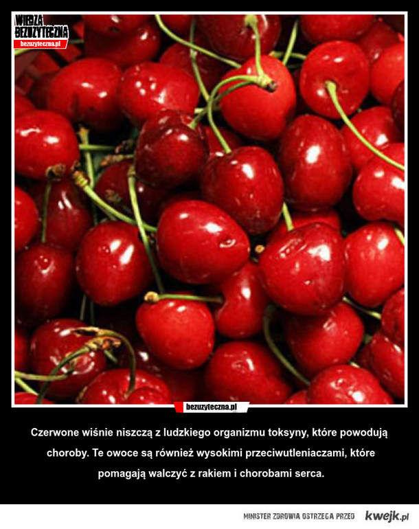 Czerwone wiśnie