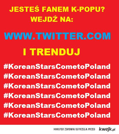 kpop stars come to poland!!
