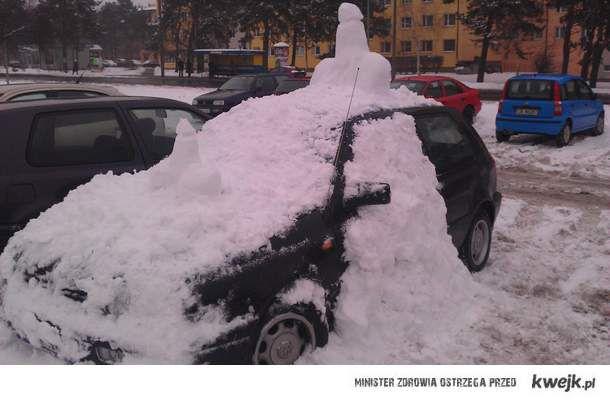 Chu*owy samochód
