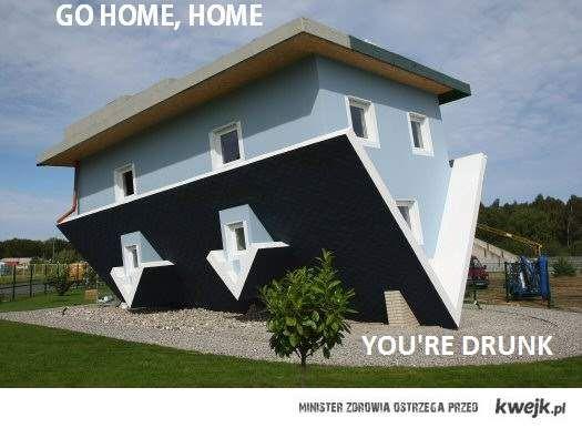 Pijany dom