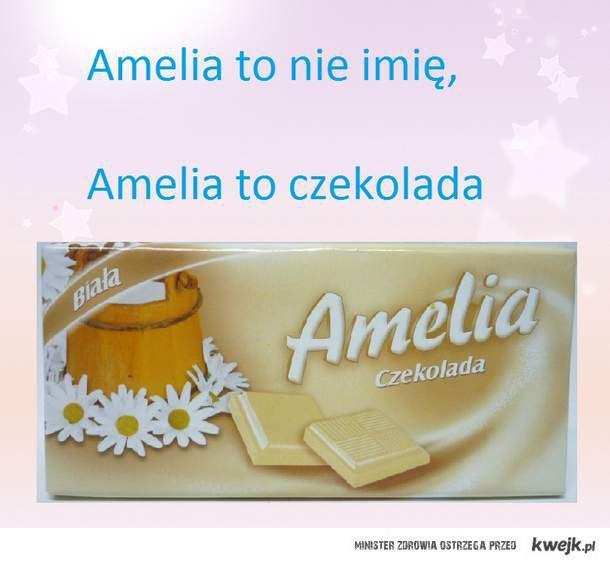 amelia to nie imię