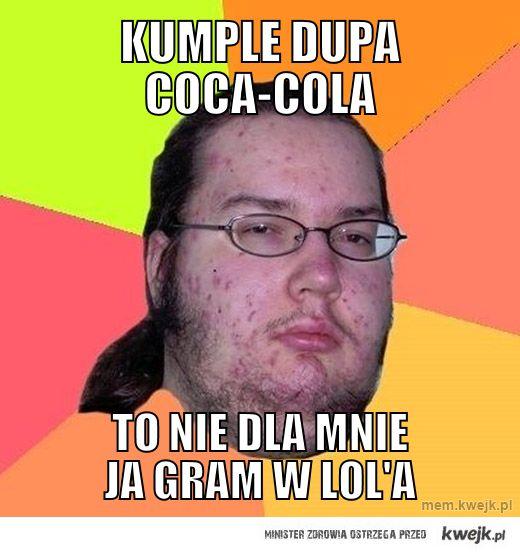 Kumple dupa coca-cola