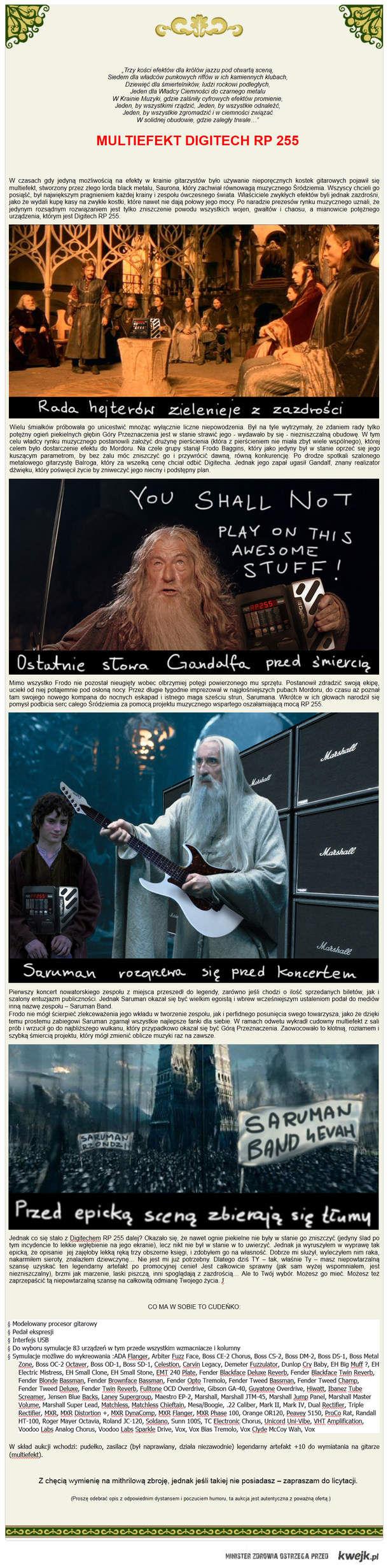 Gitarowy efekt Saurona