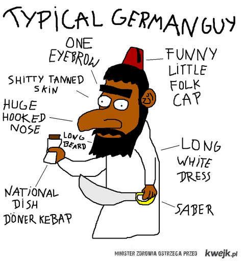 German guy